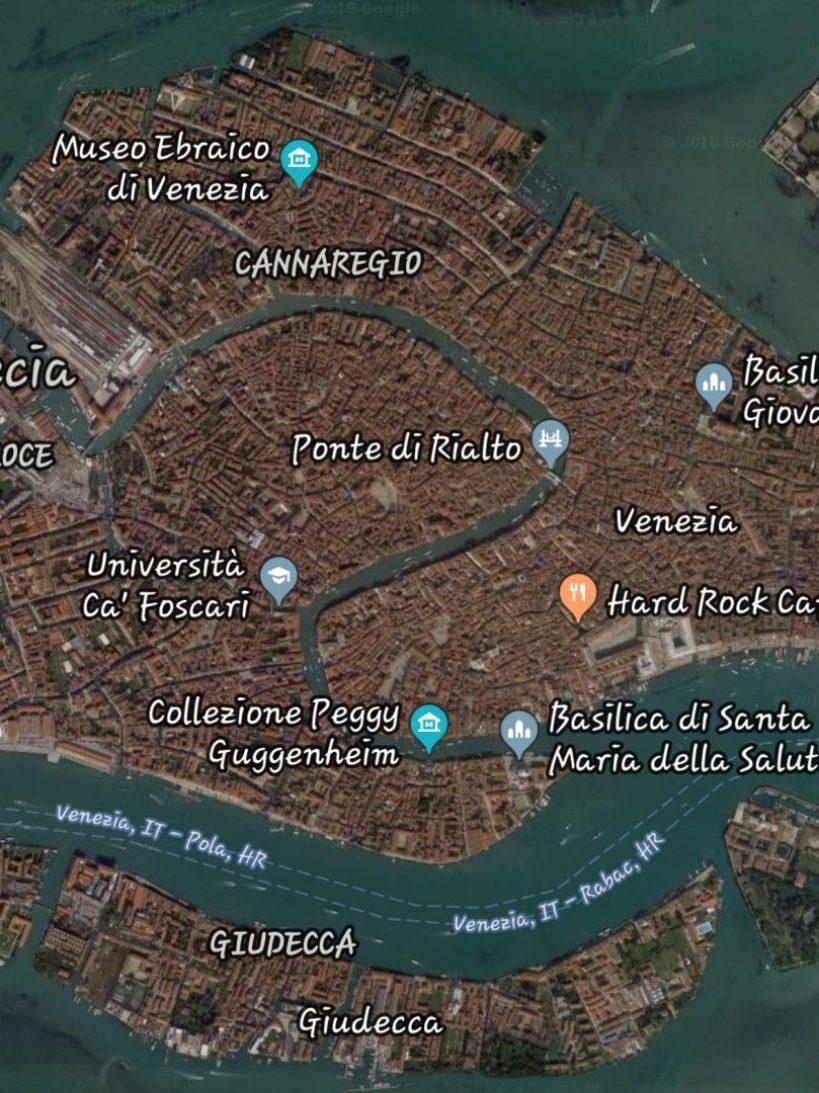 Gran Canal, Venecia (Italia)