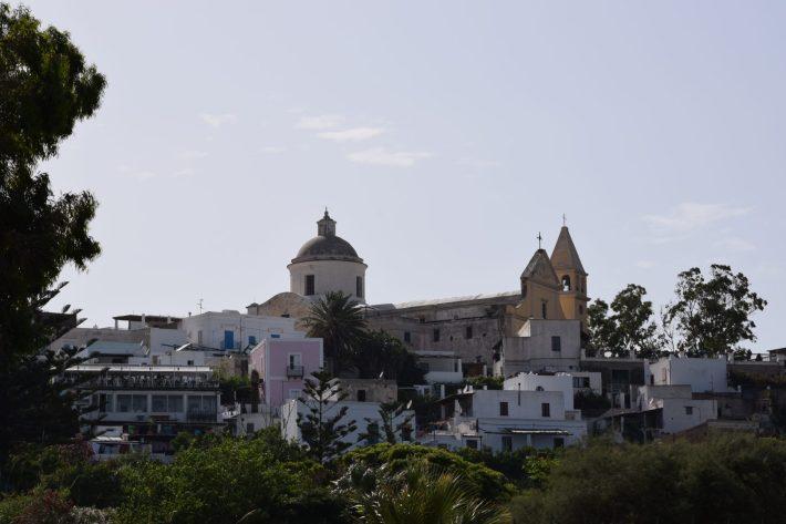 Iglesia San Vicenzo Ferreri, Stromboli, Islas Eolias, Sicilia (Italia)