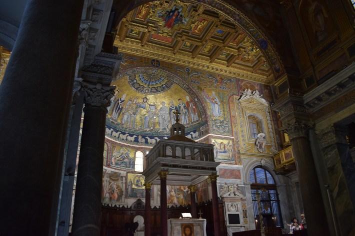 Basílica de Sta. Maria, El Trastévere, Roma (Italia)