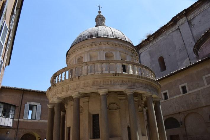 Templo de Bramante, Gianícolo, Roma (Italia)