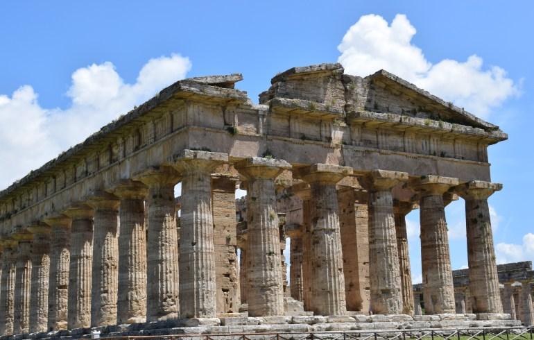 Templo de Neptuno, Paestum, Campania (Italia)