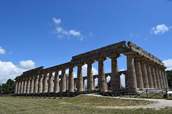 Templo de Hera, Paestum, Campania (Italia)