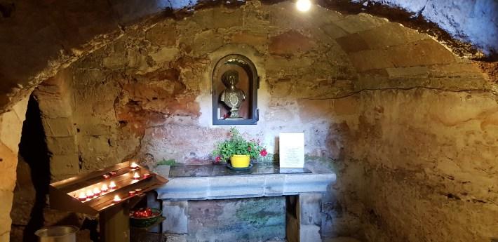 Interior de la Torre Santuario, San Vito Lo Capo, Sicilia (Italia)