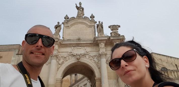 Porta Nápoli, Lecce, Puglia (Italia)