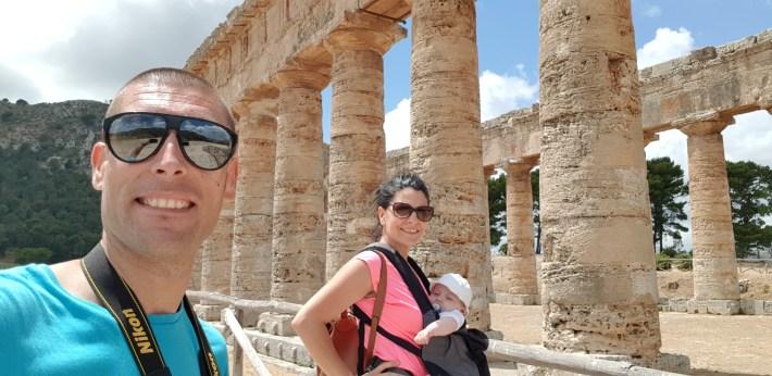 Templo griego, Segesta, Sicilia (Italia)
