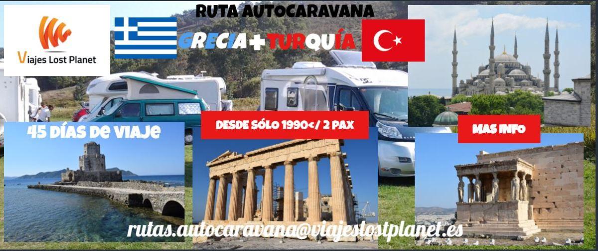 RUTA AUTOCARAVANA GRECIA Y TURQUÍA