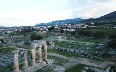 VIDEO: GRECIA DESDE EL AIRE: ANCIENT CORINTO, PELOPONESO