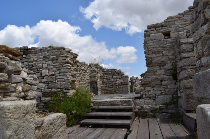 Ruinas del castillo, Segesta, Sicilia (Italia)