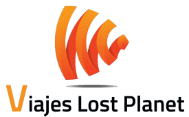 Logo Viajes Lost Planet Transparente