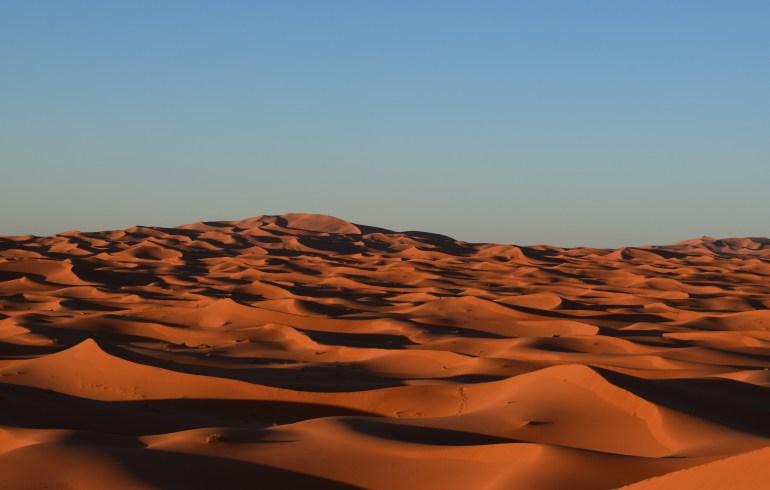 Erg Chebbi, Merzouga, Desierto del Sáhara (Marruecos)
