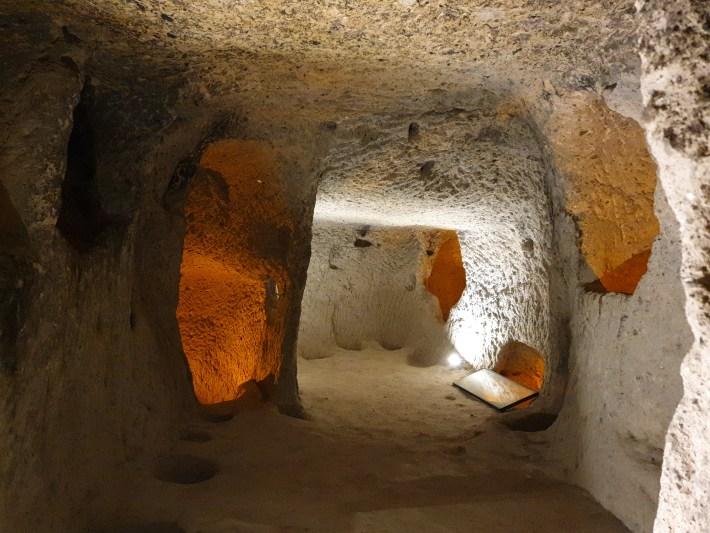 Kaymakli Underground City, Capadocia (Turquía)