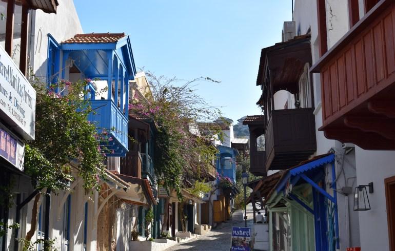 Uzun Çarsi Sokak, Kas (Turquía)