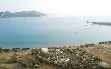 VIDEO: GRECIA DESDE EL AIRE: METHONI CAMPING, PELOPONESO (GRECIA) 4K