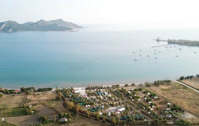 Methoni Camping, Methoni, Peloponeso (Grecia)