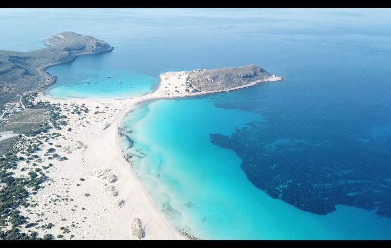 Simos Beach, Elafonisos (Grecia)