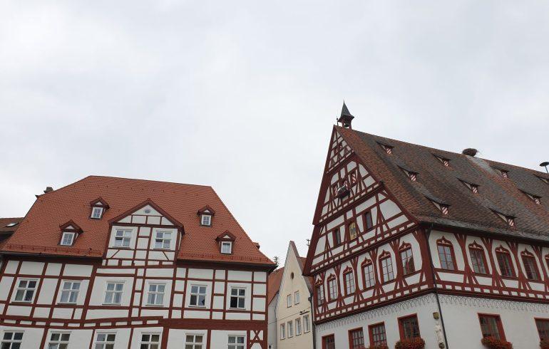 "Nordlingen, ""Romantische Strasse"", la Ruta Romántica (Alemania)"