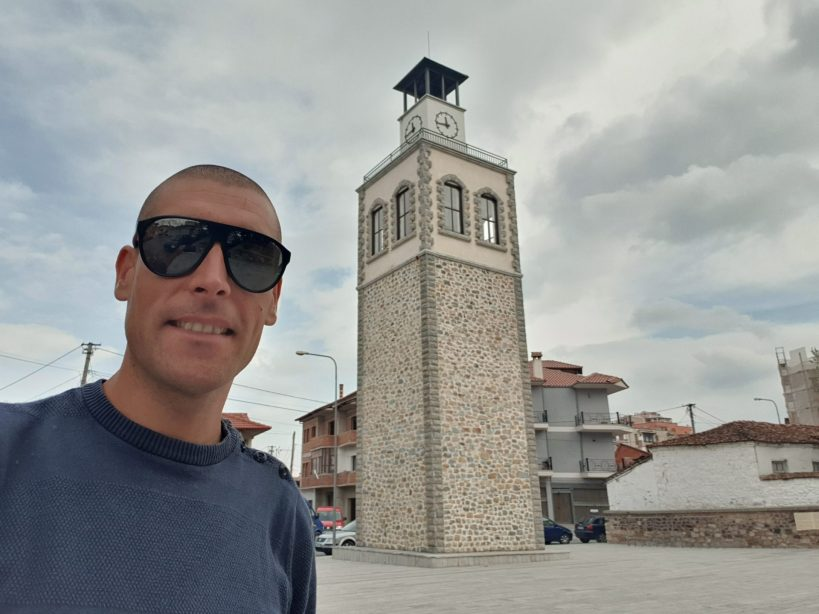 Torre del Reloj, Korçe (Albania)