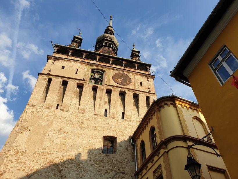 Torre del Reloj, Sighiosara (Rumanía)
