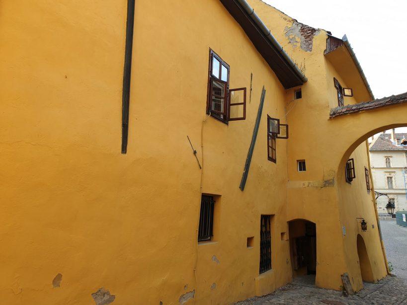 Casa de nacimiento de Vlad Tepes, (Rumanía)