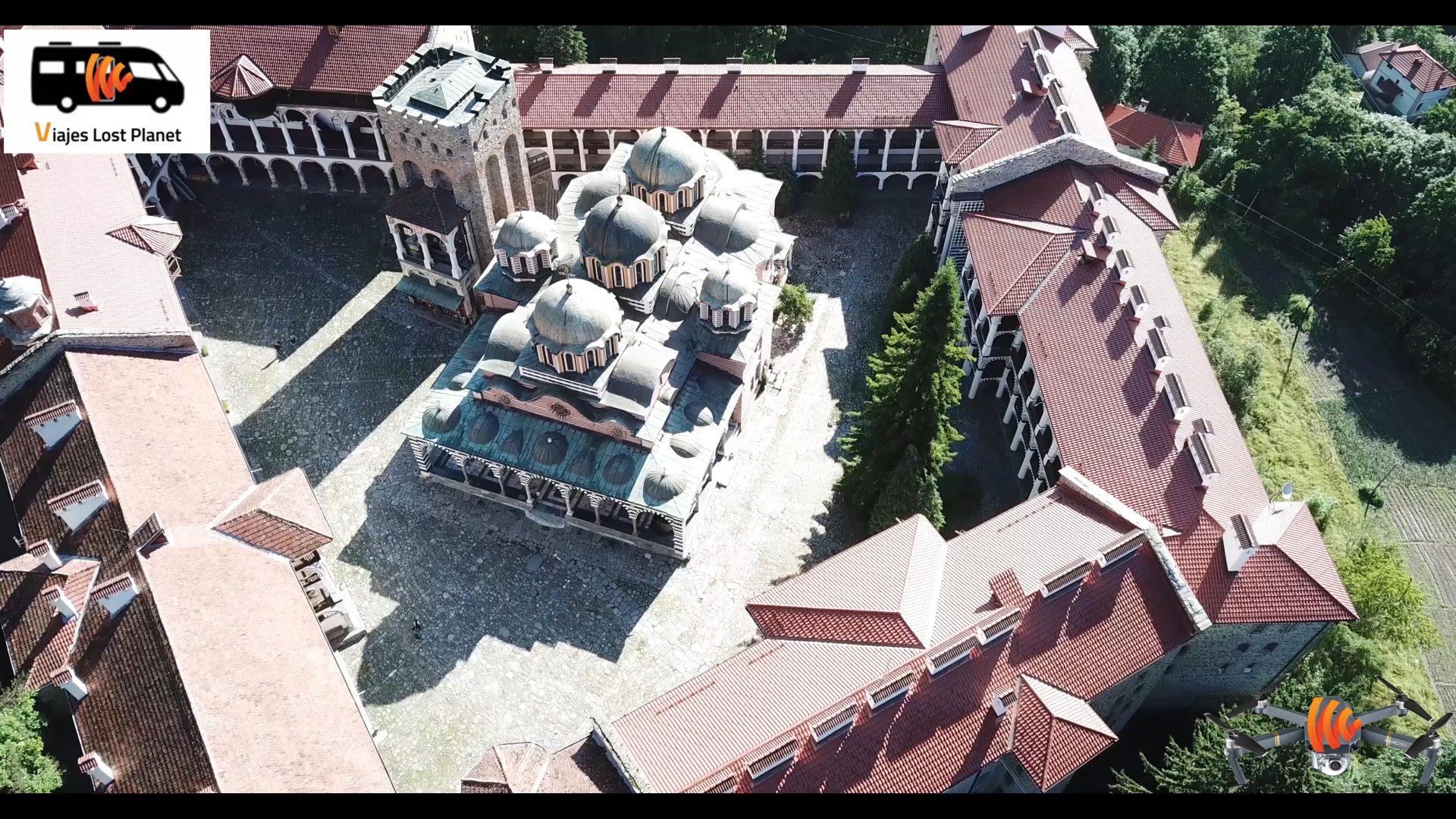 VIDEO: EL MONASTERIO DE RILA (BULGARIA) 4K