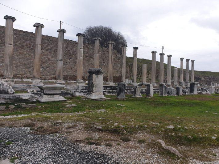 Stoa, Asclepeion, Pérgamo, Bergama (Turquía)