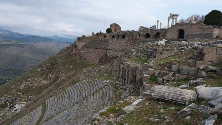 Teatro Helenístico, Acrópolis de Pérgamo, Bergama (Turquía)
