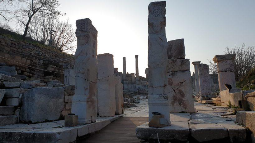 Puerta de Hércules, Via de los Curetes, Éfeso (Turquía)