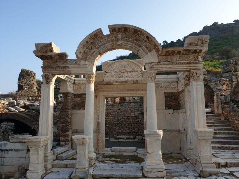 Templo de Adriano, Via de los Curetes, Éfeso (Turquía)