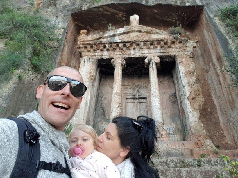Tumba de Amintas, Fethiye (Turquía)