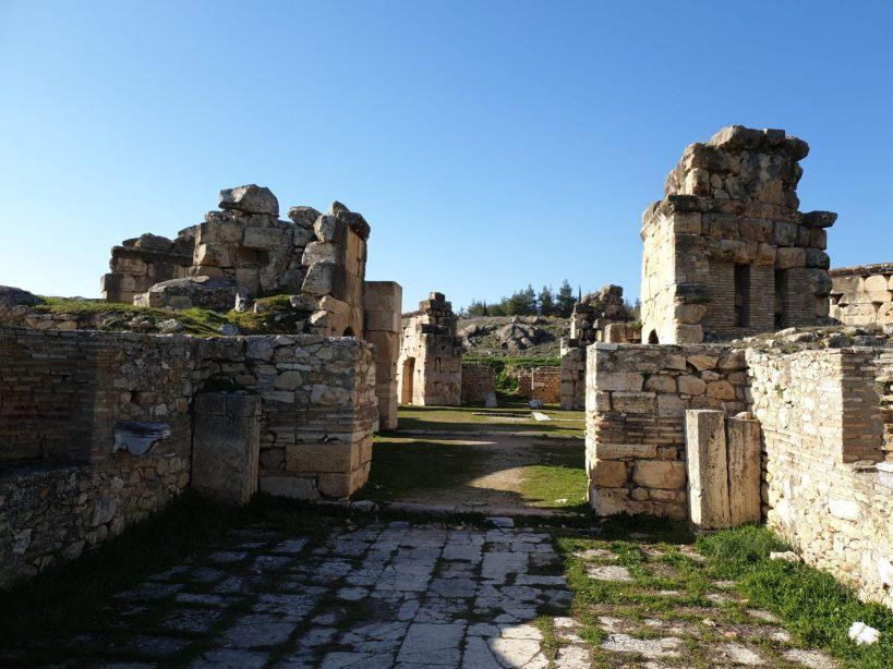 Martyrium de san Felipe, Hierápolis, Pamukkale (Turquía)