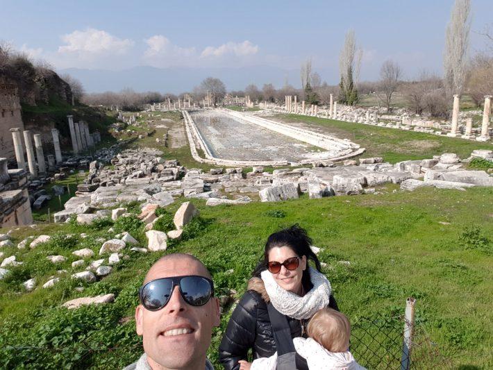 Piscina, Afrodisias (Turquía)