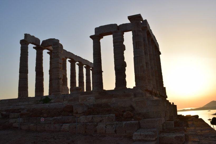 Templo de Poseidón, Cabo Sounion (Grecia)