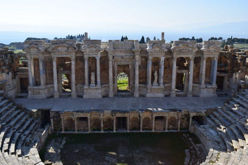 Teatro Romano, Hierápolis, Pamukkale (Turquía)