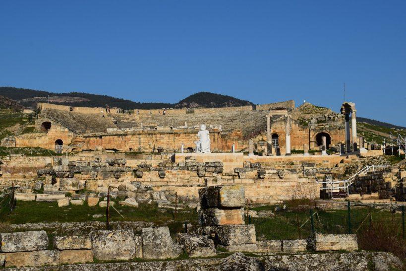 Templo de Apolo, Hierápolis, Pamukkale (Turquía)