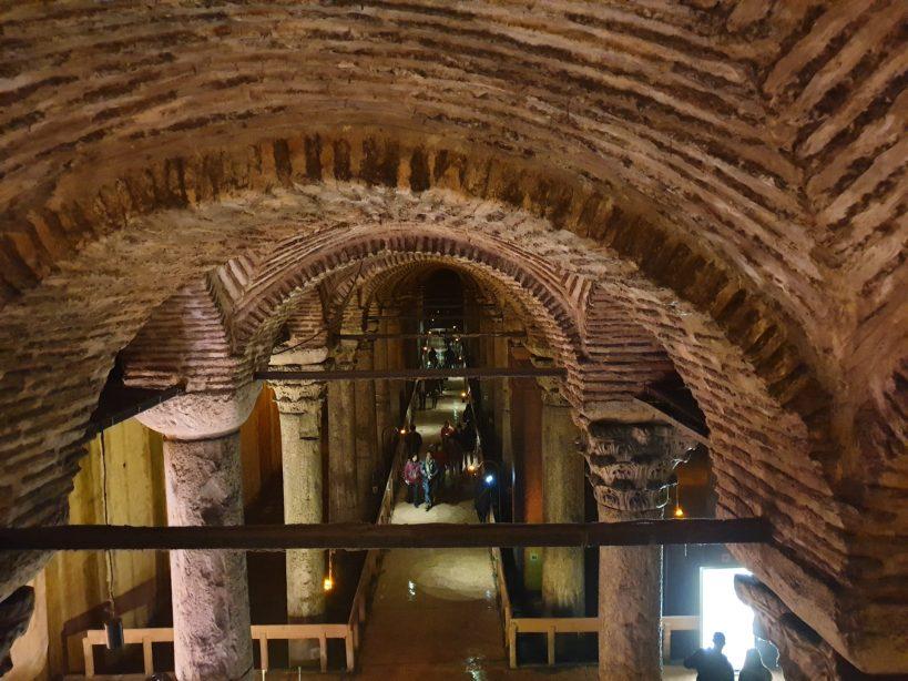 La Basílica Cisterna, Estambul (Turquía)