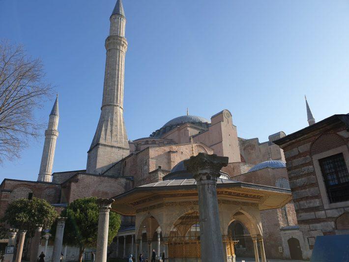 Basílica de Santa Sofía, Estambul (Turquía)