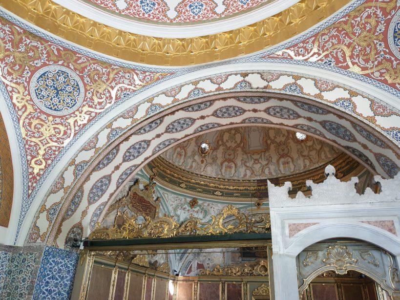 Cámara del Consejo Imperial, Segundo Patio, Palacio Topkapi, Estambul (Turquía)