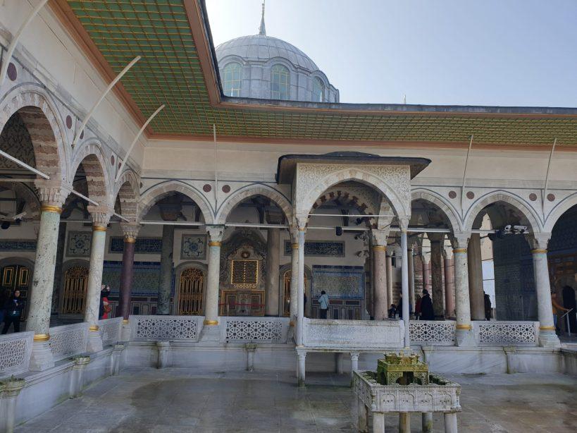Terraza de Mármol, Palacio Topkapi, Estambul (Turquía)