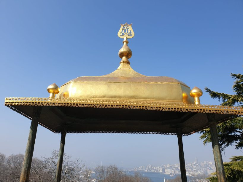Iftariye Kameriyesi, Terraza de Mármol, Palacio Topkapi, Estambul (Turquía)