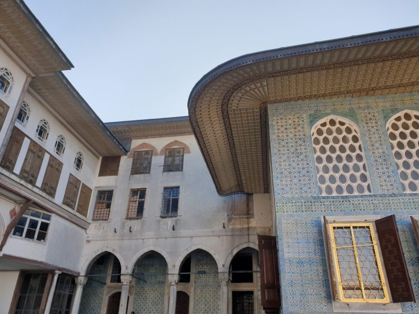 Harem,Palacio Topkapi, Estambul (Turquía)