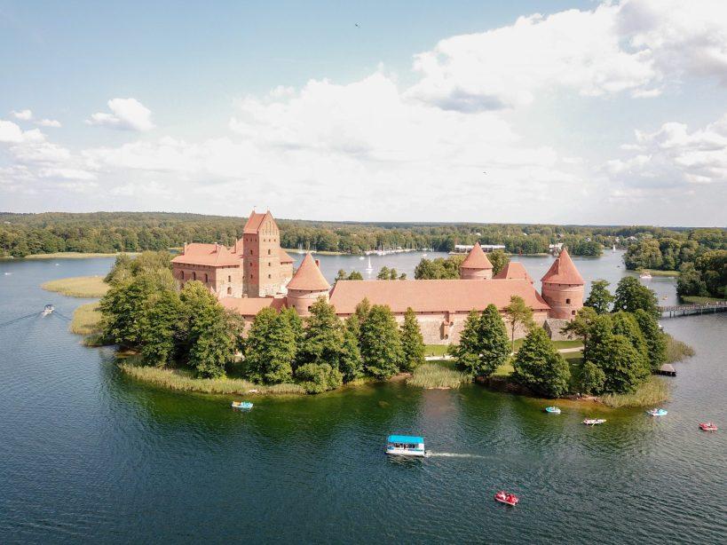 Castillo de Trakai (Trakai, Lituania)