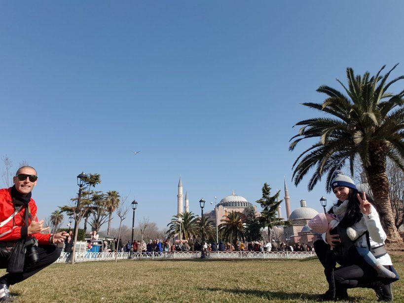 Basílica de Santa Sofía, Sultanahmed, Estambul (Turquía)