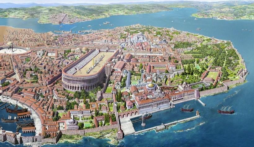 Estambul, la antigua Constantinopla en la época en la que fue capital del Imperio Romano, destaca el majestuoso Hipódromo