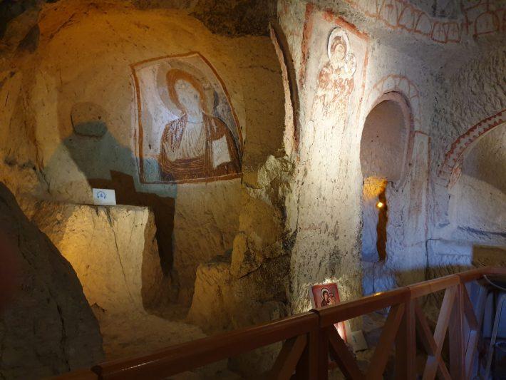 Aziz Basil Sapeli, Museo al aire libre de Göreme, Capadocia (Turquía)