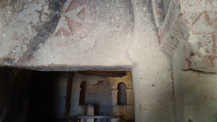 Azize Katarina Sapeli, Museo al aire libre de Göreme, Capadocia (Turquía)