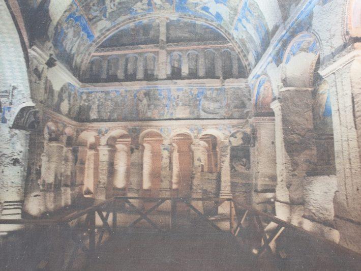 Tokali Kilise, alrededores del Museo al aire libre de Göreme, Capadocia (Turquía)