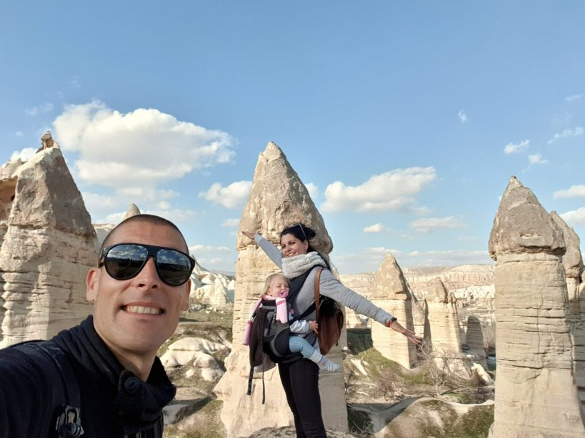 Görkündere Vadisi, Göreme, Capadocia (Turquía)
