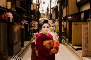 Geisha Japon