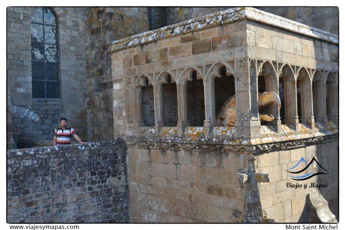 Entradas abadía de Saint Michel