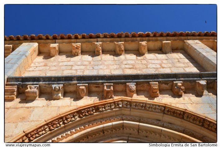 Simbología de la ermita de San Bartolomé